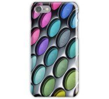 Makeup Artist Eye Shaddow Rainbow iPhone Case/Skin