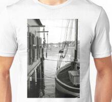 Scenic Display In B&W Unisex T-Shirt