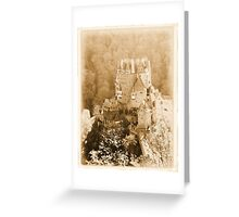 Burg Eltz Castle Greeting Card