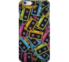 Multicolor Cassette Tape iPhone Case/Skin