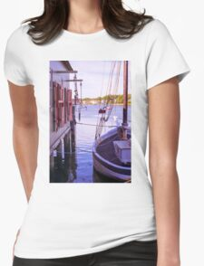 Scenic Display Womens Fitted T-Shirt