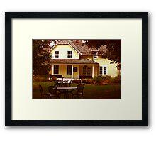 Gardeners Home - Governor Generals Residence Framed Print