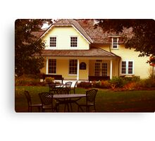 Gardeners Home - Governor Generals Residence Canvas Print