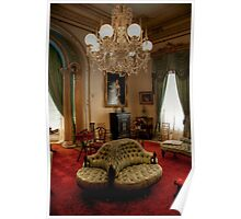 The Drawing Room, Werribe Mansion Poster