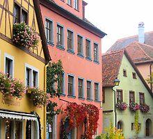 City Streets by Jeri Garner