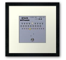 Space inVader Framed Print
