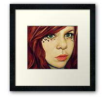 Fire Maiden Framed Print