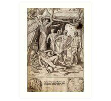 Francisco de Holanda 1573 Art Print