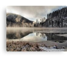 The first Frost Canvas Print