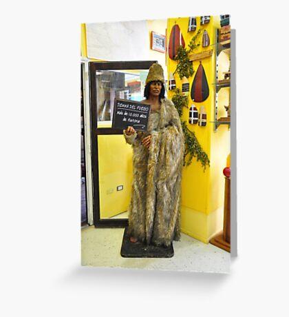 "Galería Temática ""Pequeña Historia Fueguina"" Greeting Card"