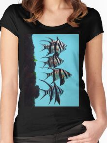 Old Wives fish Women's Fitted Scoop T-Shirt