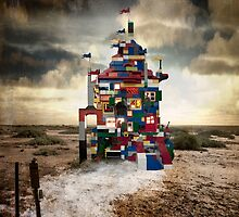 castles built on sand by Rachel Davison