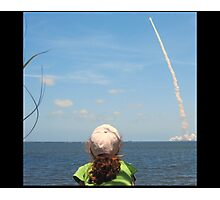 Little Miss and Atlantis Launch 2010 Photographic Print
