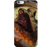 Octopus in a beer can iPhone Case/Skin