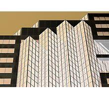 Zenith Centre Chatswood Golden Glow  Photographic Print