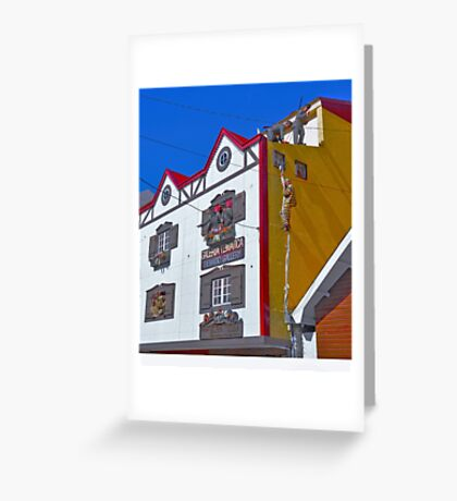 Pequeña historia fueguinea..... Greeting Card