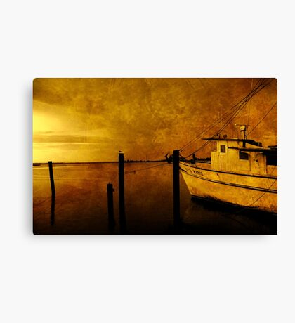 Peace in the Harbor Canvas Print