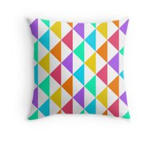 Triangle Pattern 01 Throw Pillow