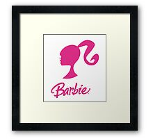 Pink Barbie Framed Print