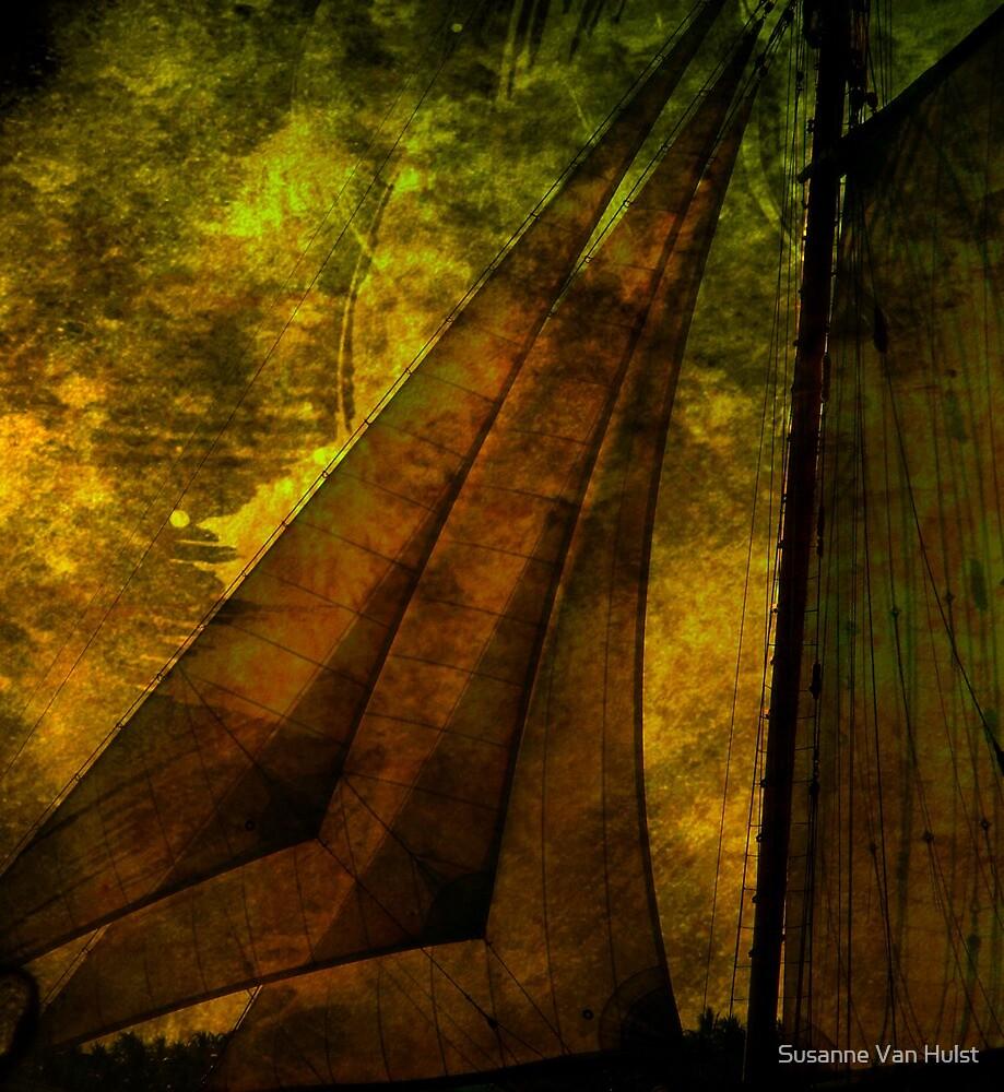 Night Sailing by Susanne Van Hulst