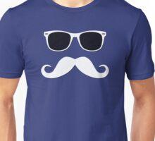 Geeky Mustache Unisex T-Shirt