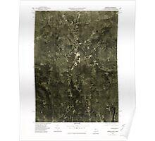 Massachusetts  USGS Historical Topo Map MA Monson 351113 1975 25000 Poster