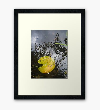 Is it a pacman? Framed Print