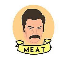 Meat Photographic Print