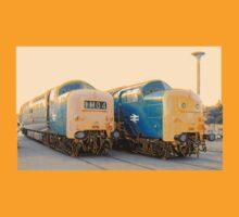 British Rail Deltic. by Timothy Beighton