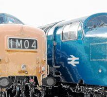 British Rail Deltic. Sticker