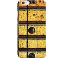 Vintage Guitar Frets iPhone Case/Skin