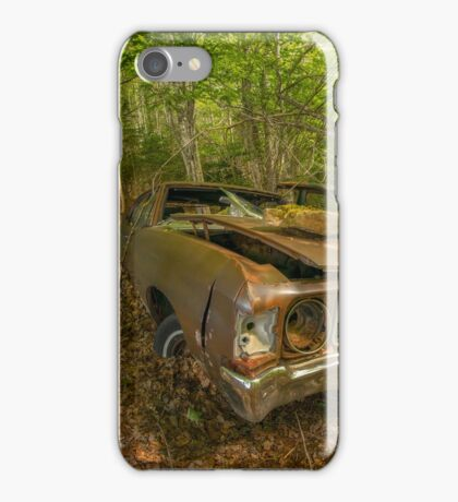 Abandoned Chevelle in Cape Breton iPhone Case/Skin