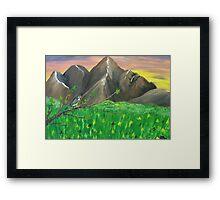 The Gift of Spring Framed Print