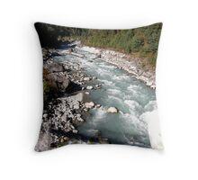 Dudh Kosi ~ Milk River Throw Pillow