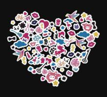 Sticker Frenzy Kids Tee