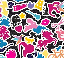 Sticker Frenzy by XOOXOO