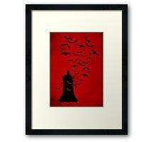 Rise of  the bats Framed Print