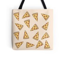 Cute Tumblr Pizza Pattern Tote Bag