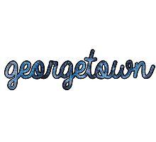 Georgetown Tie Dye Photographic Print