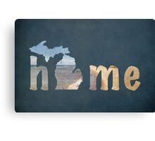 Michigan, My Home Canvas Print