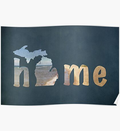 Michigan, My Home Poster