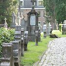 church cemetery by DKphotoart