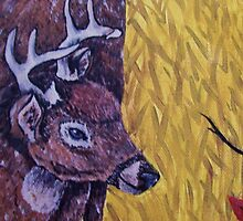 Young Bucks First Rut by chrisnewell