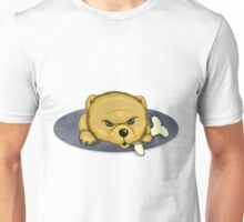 Snooze Poop Dog with bone Unisex T-Shirt