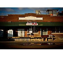 """Delta Ice"" West Memphis, Arkansas Photographic Print"