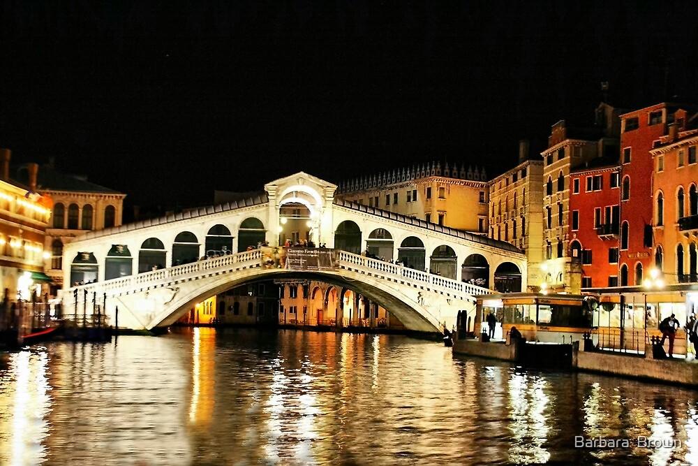 Ponte Rialto by Barbara  Brown
