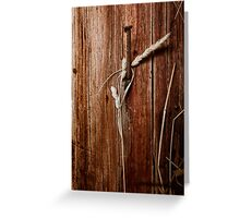 farm abstract Greeting Card