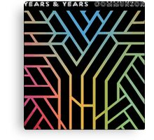 Years & Years Communion Canvas Print