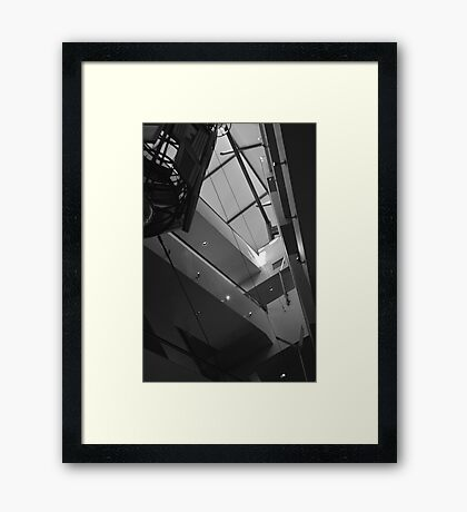 Hollywood CA. Kodak Theater Abstract Framed Print