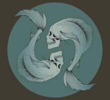 Pisces Skulls by Georgia Alderson